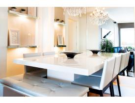 Mesa de Jantar Laca Quadrada