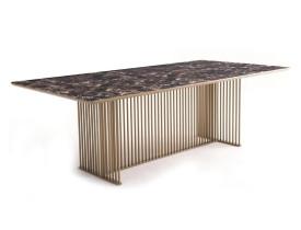 mesa-jantar-linhas-design-aço-inox-robusta-oito-lugares-retangular-laca