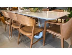 mesa-jantar-moderna-canto-redondo-sala-laca-tingimento-lâmina-natural-madeira